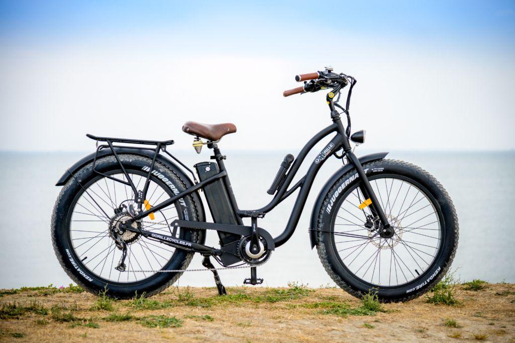 fat bike électrique - ile de re